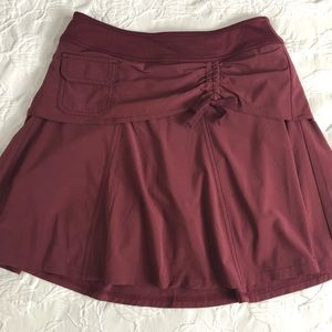 Athlete Sports Skirt with Shorts